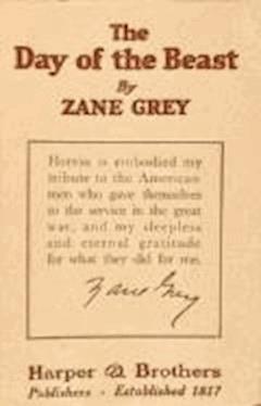 The Day of the Beast - Zane Grey - ebook