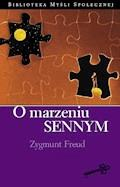 O marzeniu sennym - Zygmunt Freud - ebook
