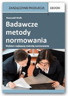 Badawcze metody normowania - Romuald Wołk - ebook