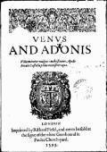 Venus and Adonis - William Shakespeare - ebook