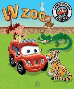 Samochodzik Franek. W zoo - Elżbieta Wójcik - ebook