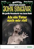 John Sinclair - Folge 1895 - Timothy Stahl - E-Book