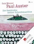 Die Geschichte meiner Schreibmaschine - Paul Auster - E-Book