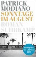 Sonntage im August - Patrick Modiano - E-Book