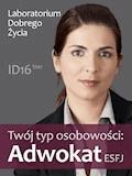 Twój typ osobowości: Adwokat (ESFJ) - Laboratorium Dobrego Życia - ebook