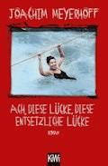 Ach, diese Lücke, diese entsetzliche Lücke - Joachim Meyerhoff - E-Book
