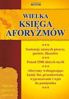 Wielka księga aforyzmów - Opracowanie zbiorowe - ebook