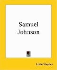 Samuel Johnson - Leslie Stephens - ebook