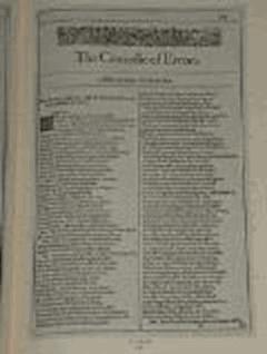 The Comedy of Errors - William Shakespeare - ebook