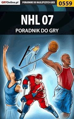 """NHL 07 - poradnik do gry - Paweł """"HopkinZ"""" Fronczak - ebook"""