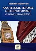Angielskie idiomy nieodnotowane w innych słownikach - Radosław Więckowski - ebook