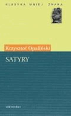 Satyry - Krzysztof Opaliński - ebook