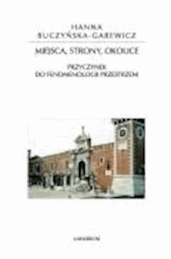 Miejsca, strony, okolice - prof. dr hab. Ryszard Nycz - ebook