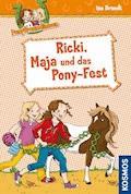 Ponyfreundinnen, 5, Ricki, Maja und das Pony-Fest - Ina Brandt - E-Book