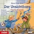 Der Unsichtbare. Freche Freunde - Klaus-Peter Wolf - Hörbüch