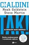 TAK! 60 sekretów nauki perswazji - Robert B. Cialdini, Noah J. Goldstein, Steve J. Martin - audiobook