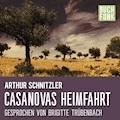 Casanovas Heimfahrt - Arthur Schnitzler - Hörbüch