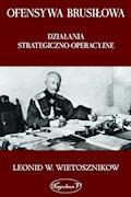 Ofensywa Brusiłowa. Działania strategiczno-operacyjne - Leonid W. Wietosznikow - ebook