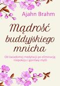 Mądrość buddyjskiego mnicha. Od świadomej medytacji po eliminację niepokoju i gonitwy myśli - Ajahn Brahm - ebook