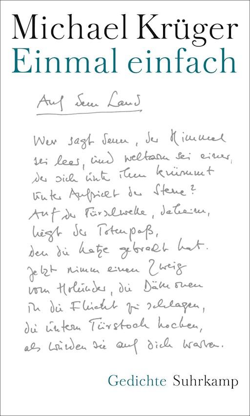 Einmal Einfach Michael Krüger E Book Legimi Online