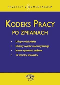 Kodeks pracy po zmianach - Emilia Wawrzyszczuk - ebook