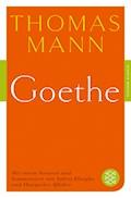 Goethe - Thomas Mann - E-Book