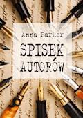 Spisek autorów - Anna Parker - ebook