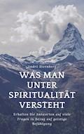 Was man unter Spiritualität versteht - Andre Sternberg - E-Book