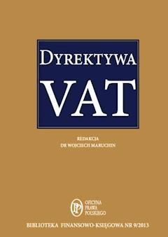 Dyrektywa VAT - Opracowanie zbiorowe - ebook