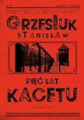 Pięć lat kacetu - Stanisław Grzesiuk - ebook