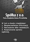 Spółka z o.o. Prawo, zarządzanie, finanse, PR, marketing. Wydanie maj 2014 r. - Barbara Brózda - ebook