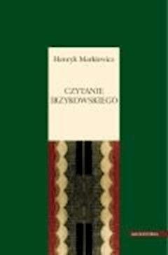 Czytanie Irzykowskiego - Henryk Markiewicz - ebook