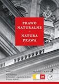 Prawo naturalne - natura prawa - Piotr Dardziński, Franciszek Longchamps de Berier - ebook