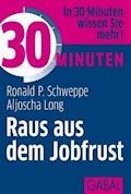 30 Minuten Raus aus dem Jobfrust - Ronald P. Schweppe - E-Book
