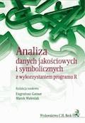 Analiza danych jakościowych i symbolicznych z wykorzystaniem programu R - Eugeniusz Gatnar, Marek Walesiak - ebook