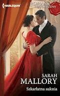 Szkarłatna suknia - Sarah Mallory - ebook