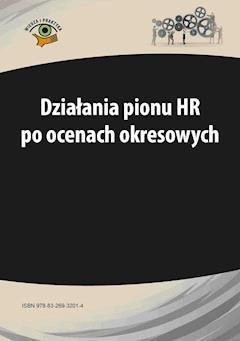 Działania pionu HR po ocenach okresowych - Aneta Kopera - ebook