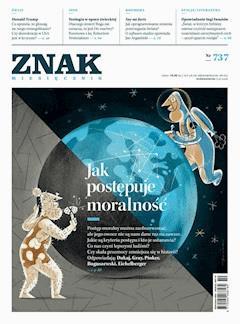 Miesięcznik Znak nr 737: Jak postępuje moralność - Opracowanie zbiorowe - ebook