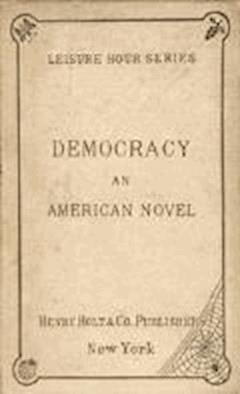 Democracy - Henry Adams - ebook