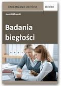 Badania biegłości - Jacek Ziółkowski - ebook