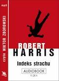 Indeks strachu - Robert Harris - audiobook