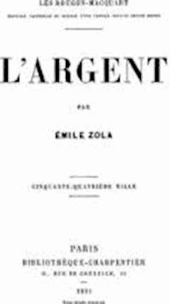 L'Argent - Emile Zola - ebook