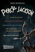 Percy Jackson: Alle fünf Bände der Bestseller-Serie in einer E-Box! (Percy Jackson ) - Rick Riordan - E-Book