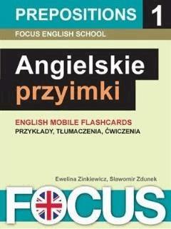 Angielskie przyimki - zestaw 1 - Focus English School - ebook