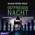 Ostfriesennacht - Klaus-Peter Wolf - Hörbüch