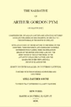 Les aventures d'Arthur Gordon Pym de Nantucket - Edgar Allan Poe - ebook