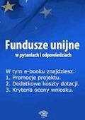 Fundusze unijne w pytaniach i odpowiedziach. Wydanie czerwiec 2014 r. - Anna Śmigulska-Wojciechowska - ebook