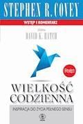 Wielkość codzienna - Stephen R. Covey - ebook