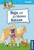 Ponyfreundinnen, 2, Maja und die kleinen Katzen - Ina Brandt - E-Book