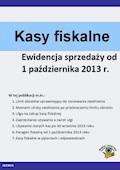 Kasy fiskalne Ewidencja sprzedaży od 1 października 2013 r. - Kuciński Rafał - ebook